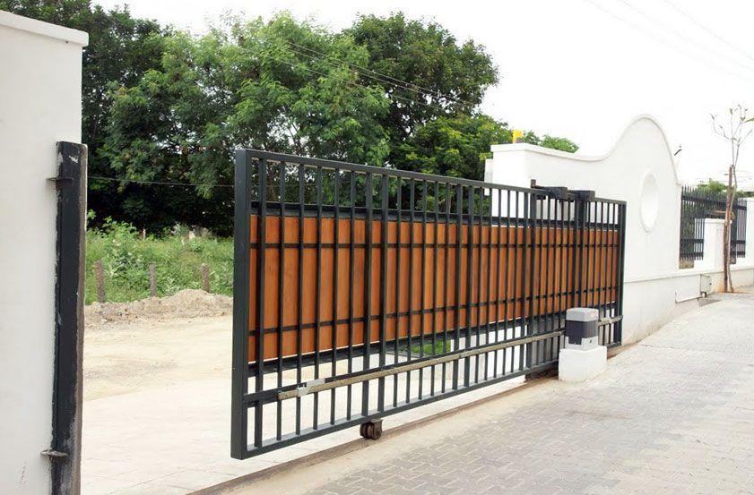Комплект автоматические откатные ворота